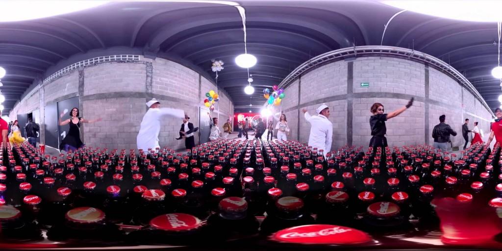 coca-cola bottle dance