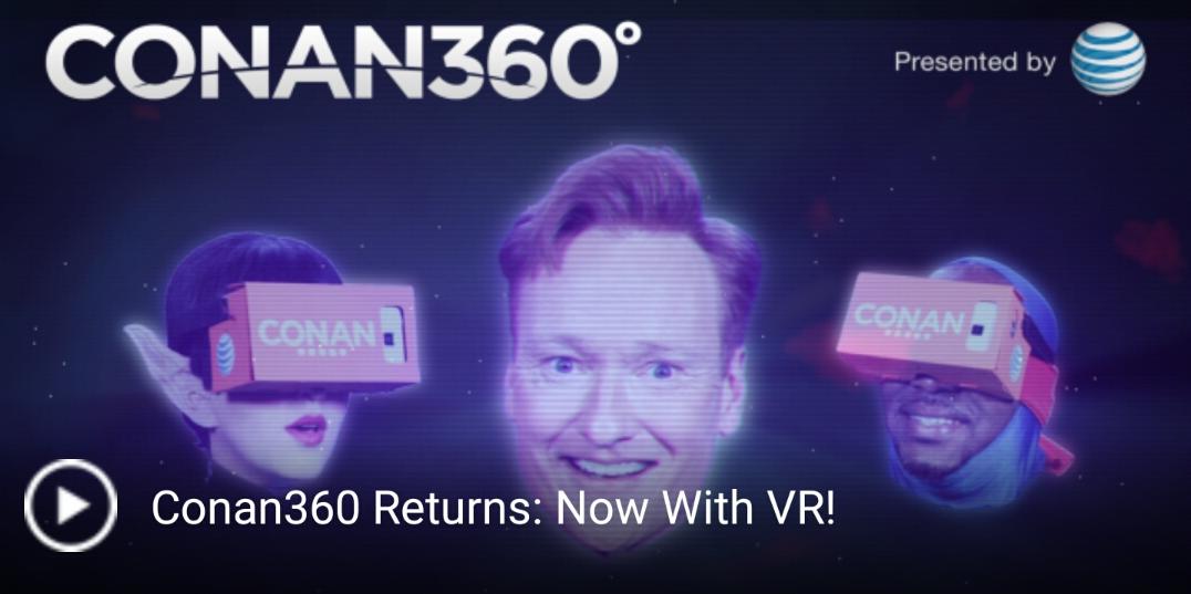 Conan360 App VR 1