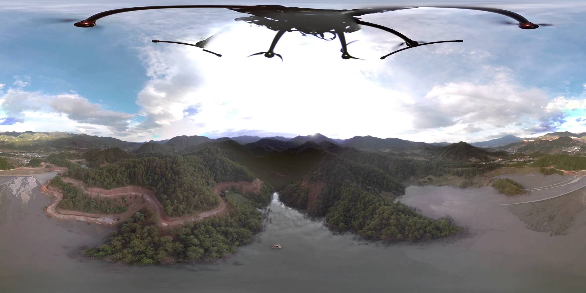 Drone Fly Over Asia's Largest Lead Mine