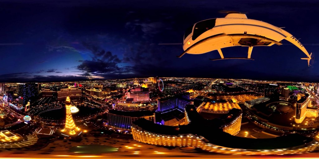 Las Vegas Night Helicopter Flight