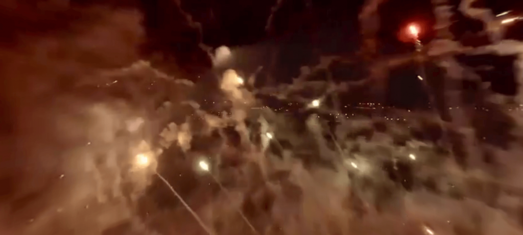 Drone Films 4th of July Fireworks