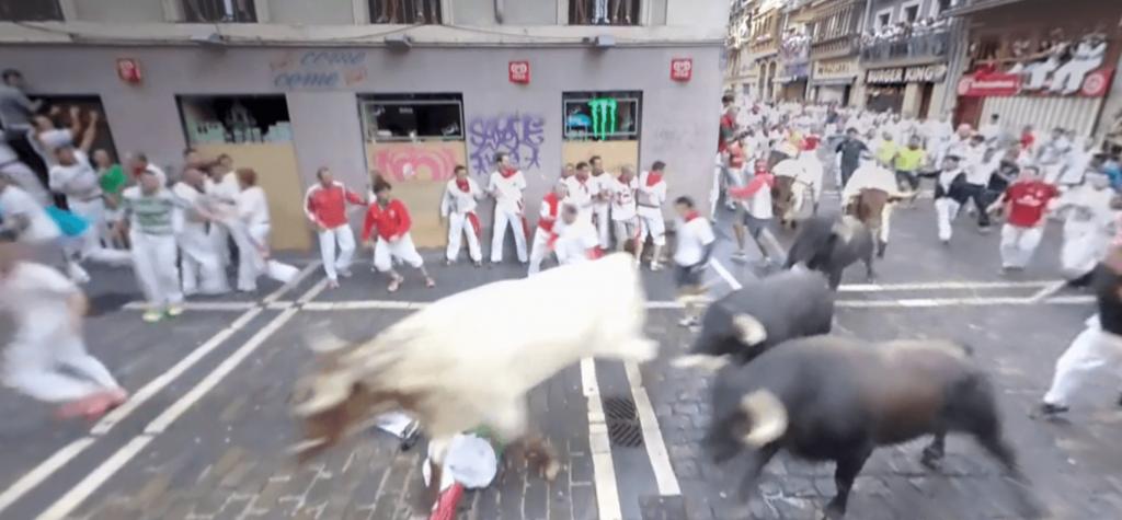 Running of the Bulls Vrideo