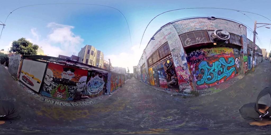 San Francisco Graffiti Alley