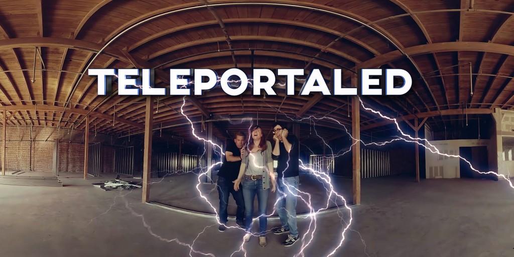 TELEPORTALED - A VR Sci-Fi Comedy