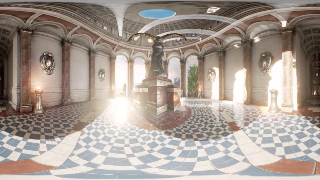 Winter in the Sun Temple