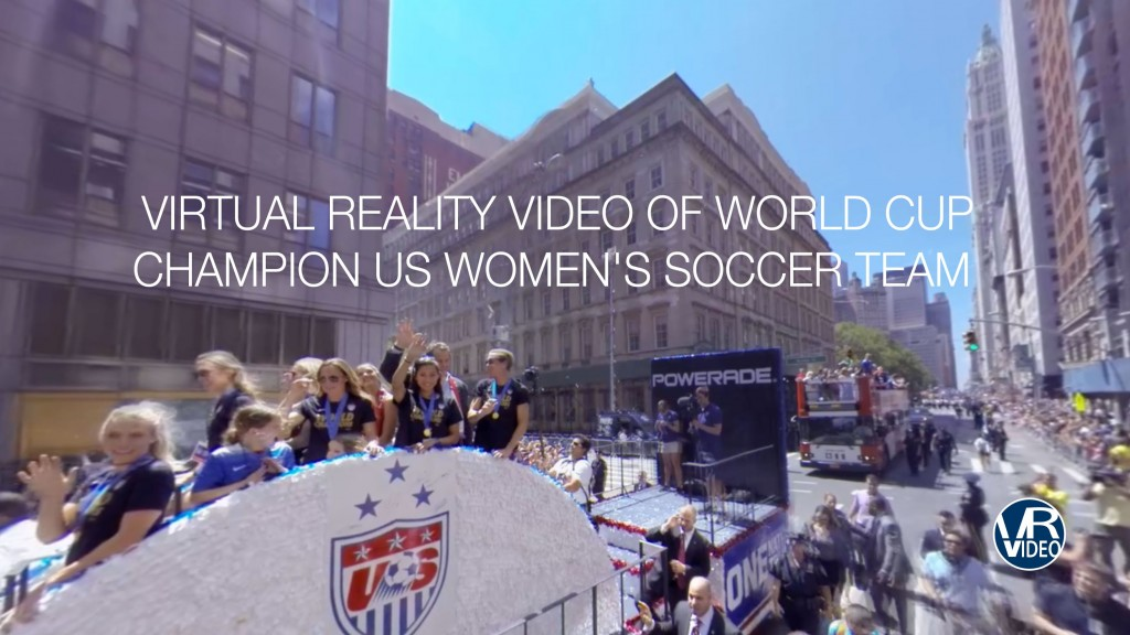 Woman's World Cup Soccer Parade NYC
