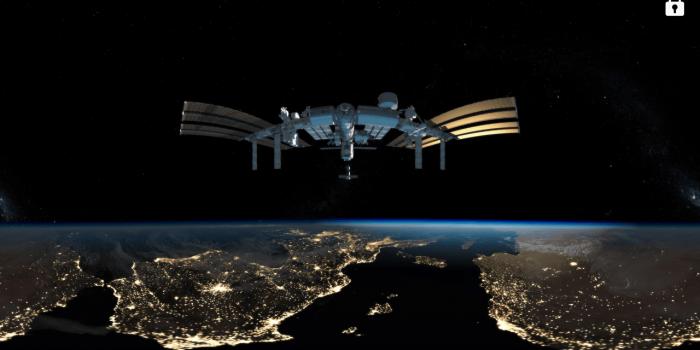 International Space Station Milk VR