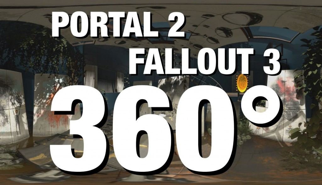 PORTAL 2 and FALLOUT 3 Virtual Tour!