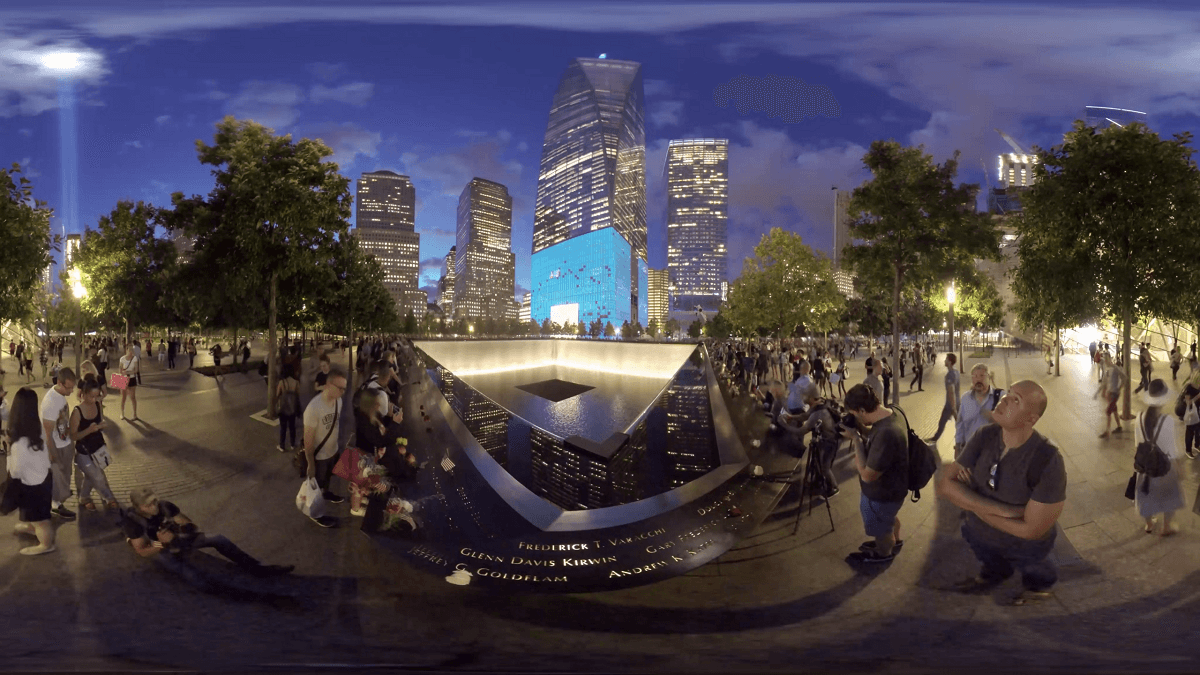 911 Memorial Visual + Reality