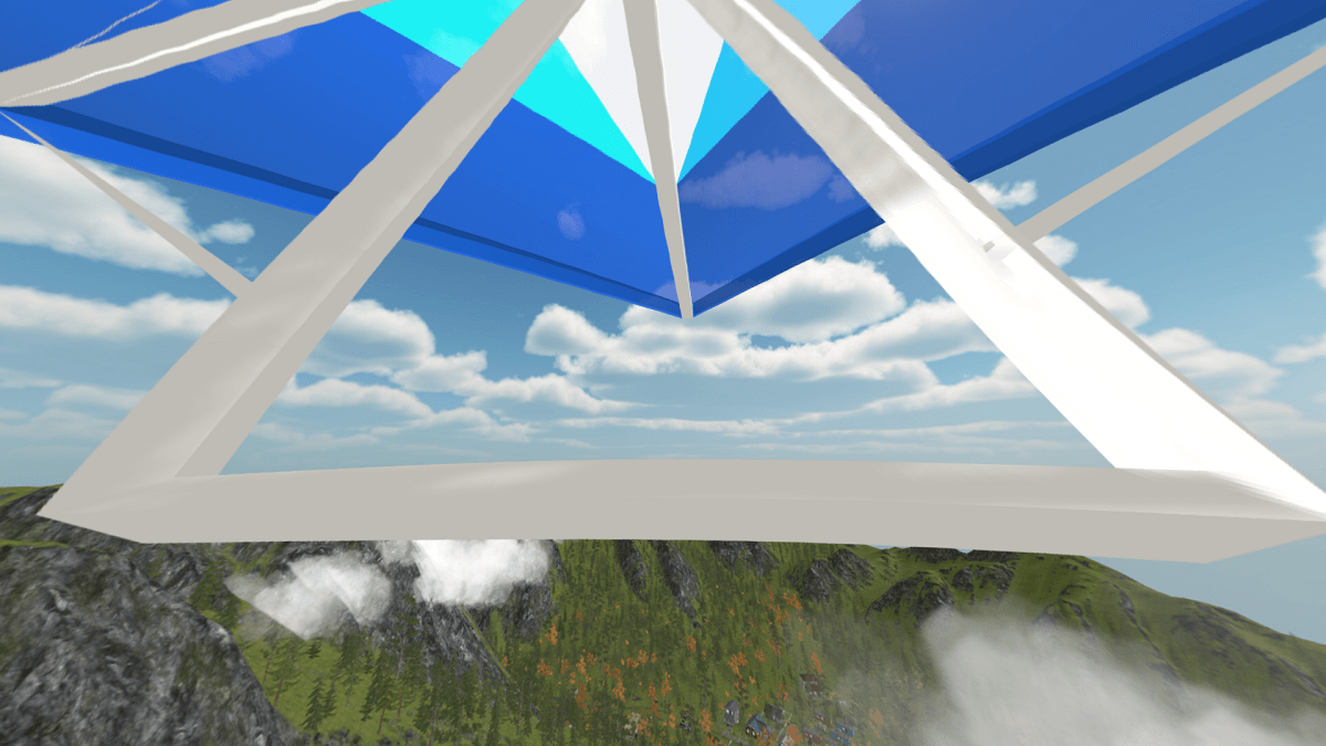 Adventures in the Metaverse Future Ted Hang Gliding