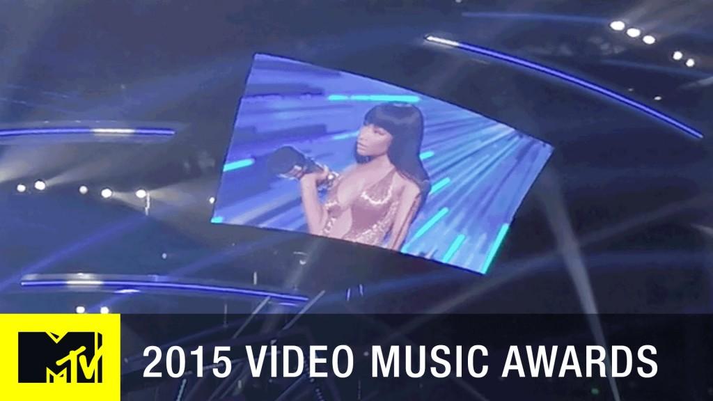 MTV VMAs Nicki Confronts Miley