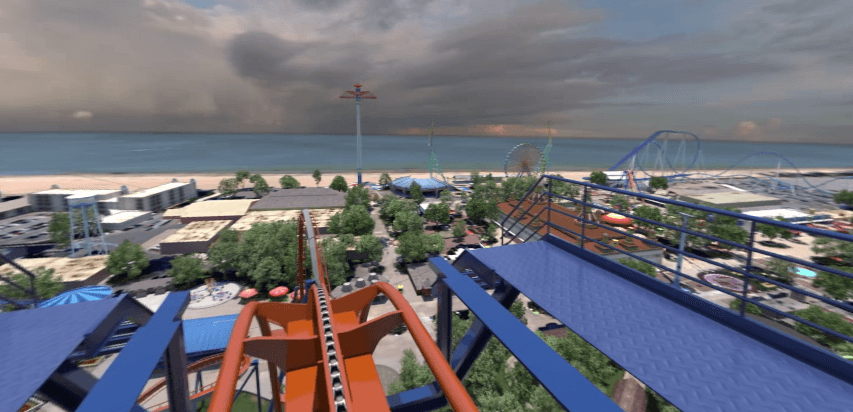 Ride a Coaster in 360 Feature