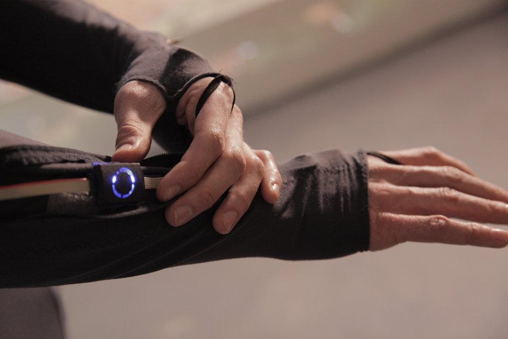Salto Motion Capture Arm Sensor