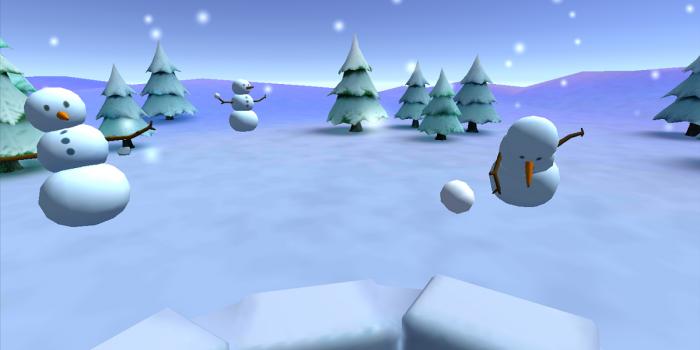 Snow Strike Snowball Fight Snowman Feature