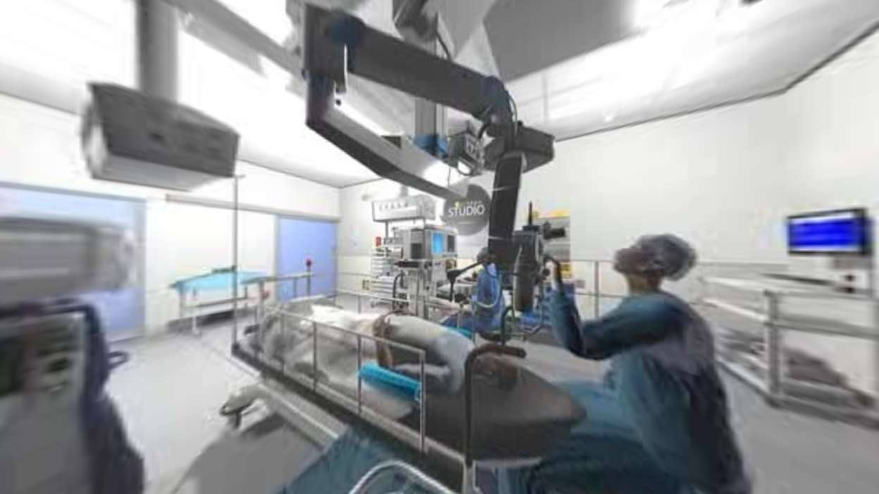 Inside an Animated Operating Room