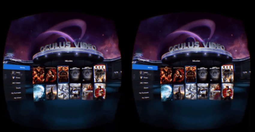 Oculus Cinema now Oculus Video on Gear VR - VR Pill