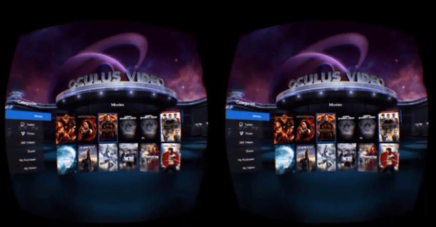 Oculus Video Feature