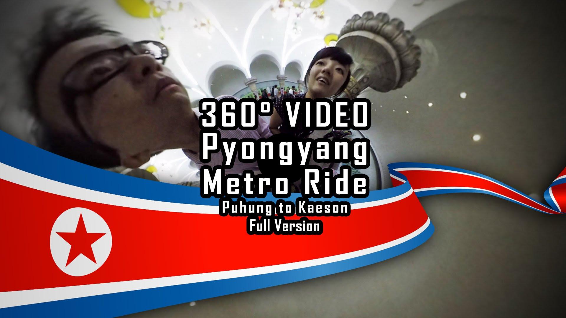 Pyongyang Metro Ride Tour