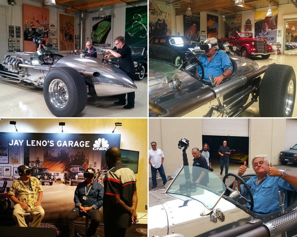 Ride Along With Jay Leno in Virtual Reality